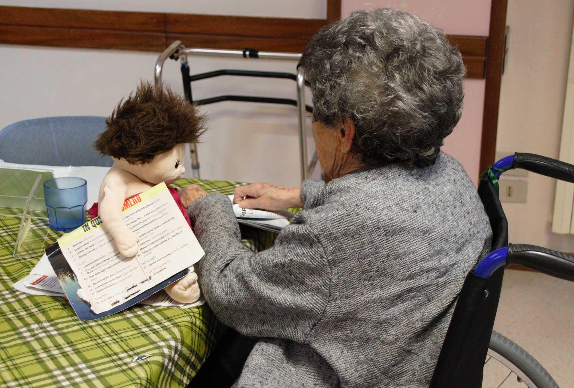 Doll Therapy Casa Tassoni